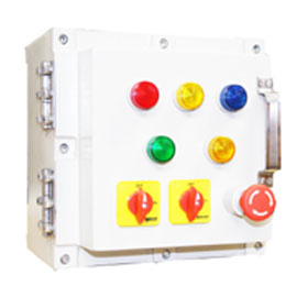 Flameproof Control Panel